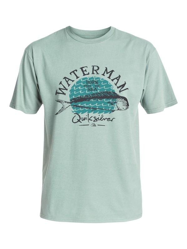 0 Waterman Good Eats T-Shirt  AQMZT03157 Quiksilver