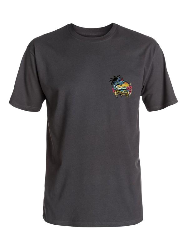 0 Waterman Fish Kitchen T-Shirt  AQMZT03158 Quiksilver
