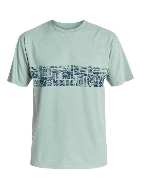 0 Waterman Big Tapa T-Shirt  AQMZT03162 Quiksilver