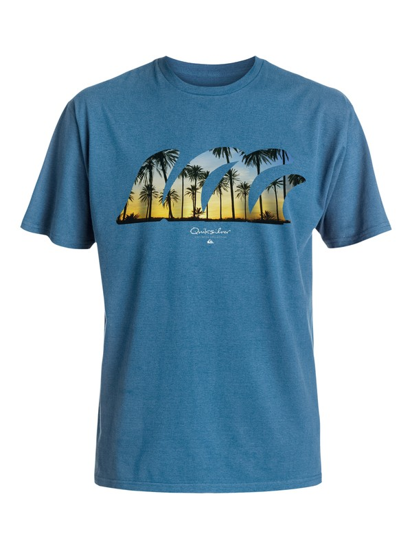 0 Waterman Quad Fin T-Shirt  AQMZT03167 Quiksilver