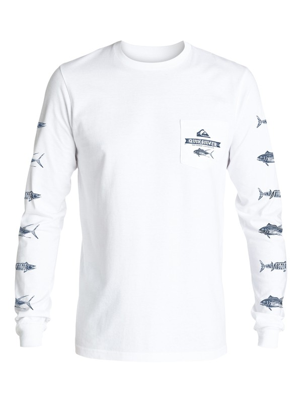 0 Waterman Open Ocean - Long Sleeve T-Shirt  AQMZT03199 Quiksilver