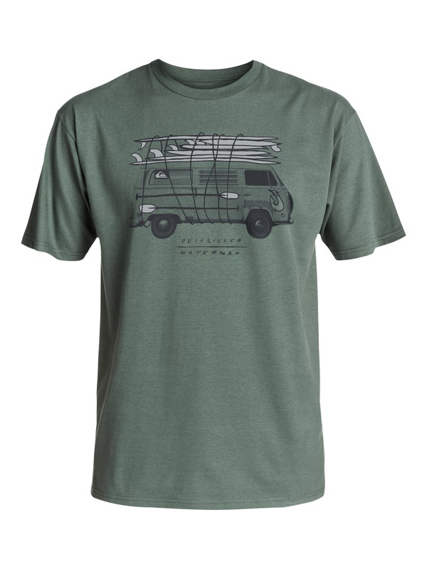 0 Waterman All In - T-Shirt  AQMZT03205 Quiksilver
