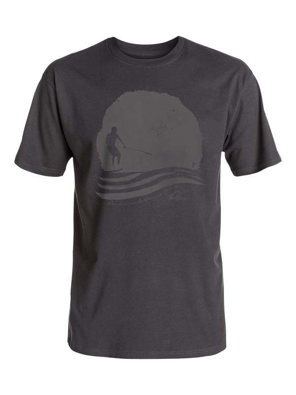 0 Waterman Stay Out - T-Shirt  AQMZT03215 Quiksilver