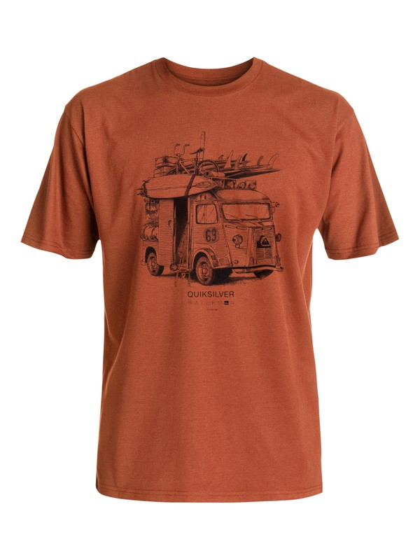 0 Waterman The Cube - T-Shirt  AQMZT03216 Quiksilver