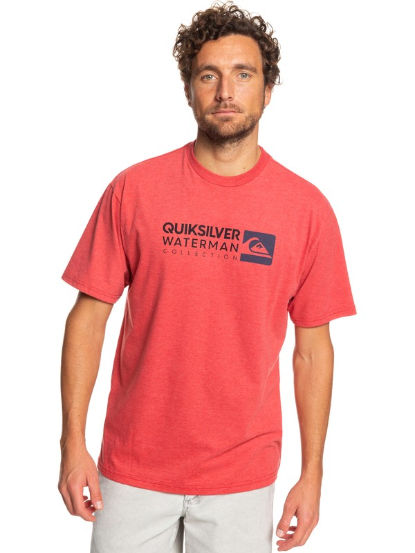 0 Waterman Return To Forever Tee Red AQMZT03362 Quiksilver