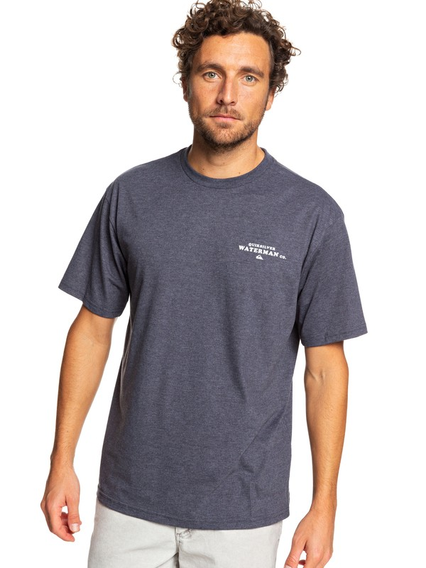 0 Waterman Brotype Tee Blue AQMZT03364 Quiksilver