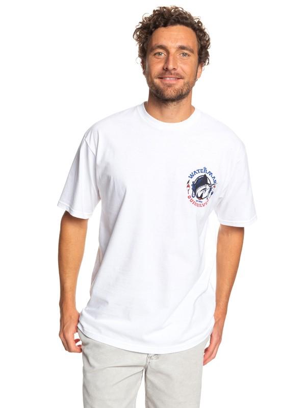 0 Waterman Dude Tee White AQMZT03365 Quiksilver