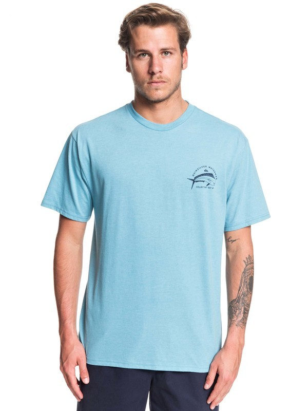 0 Waterman Dolphin Filet Tee Blue AQMZT03374 Quiksilver
