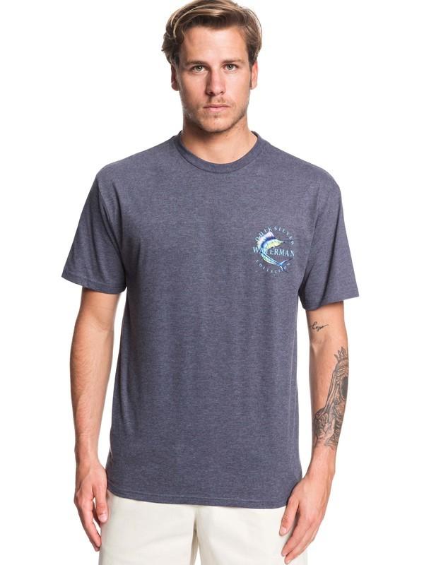 0 Waterman Reel Stoke - T-Shirt for Men Azul AQMZT03376 Quiksilver