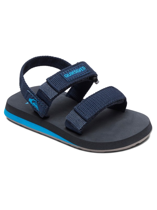 0 Boy's 2-7 Monkey Caged Sandals Blue AQTL100058 Quiksilver
