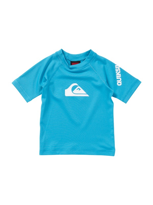 0 Boys 2-4 All Time Short Sleeve Rashguard  AQTWR00008 Quiksilver