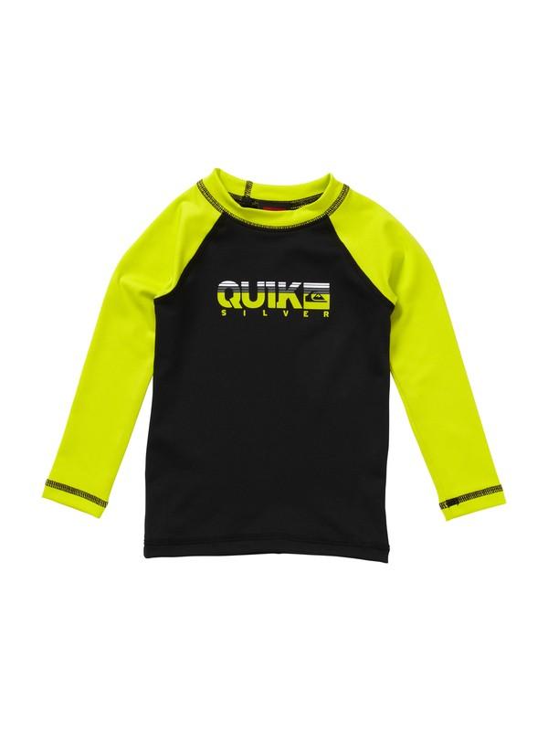 0 Boys 2-4  Extra Extra Long Sleeve Rashguard  AQTWR00011 Quiksilver