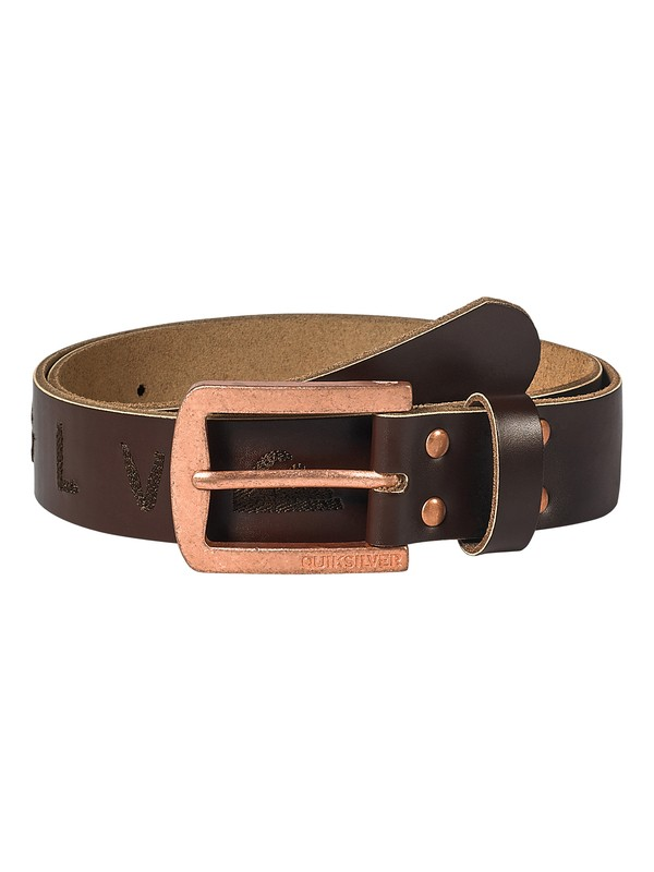 0 Whip Leather Belt  AQYAA03005 Quiksilver