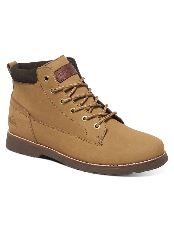 0 Mission - Lace-Up Boots Beige AQYB700022 Quiksilver