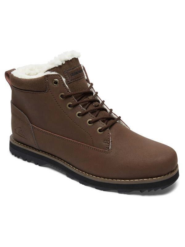 0 Mission V - Shoes for Men Brown AQYB700027 Quiksilver