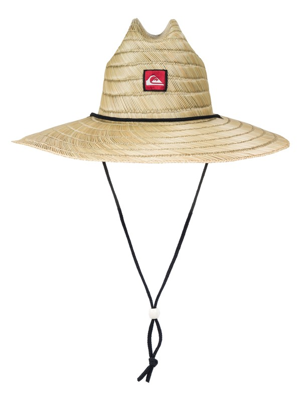 0 Pierside Straw Lifeguard Hat Yellow AQYHA00145 Quiksilver