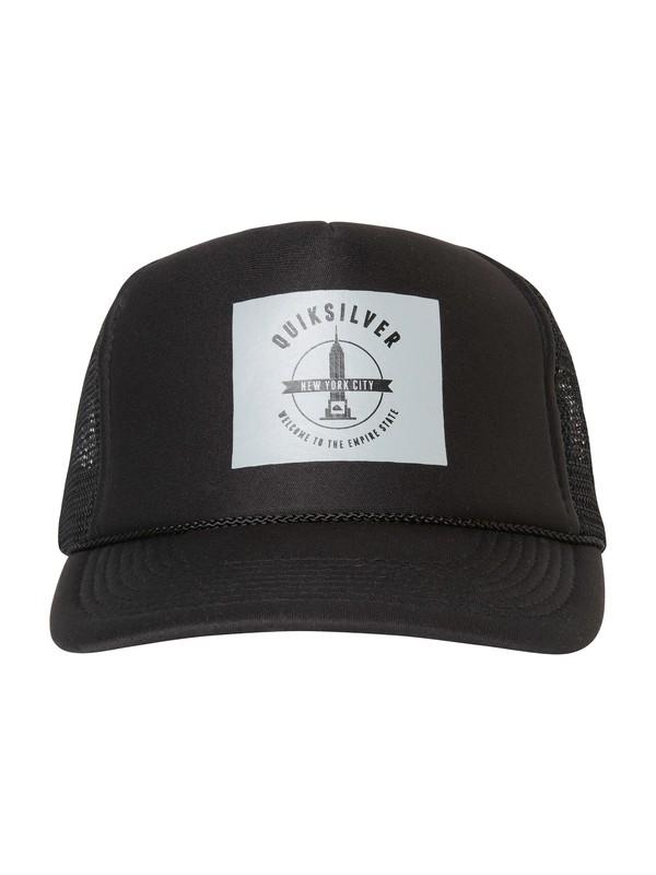 0 Empire Trucker Hat  AQYHA00289 Quiksilver
