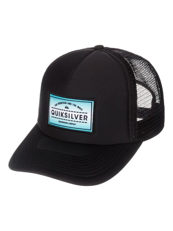 0 Emerald Trucker Hat  AQYHA03057 Quiksilver