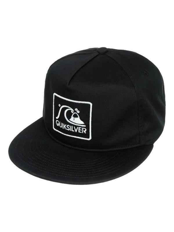 0 Graf - 5-Panel Snapback Hat  AQYHA03133 Quiksilver