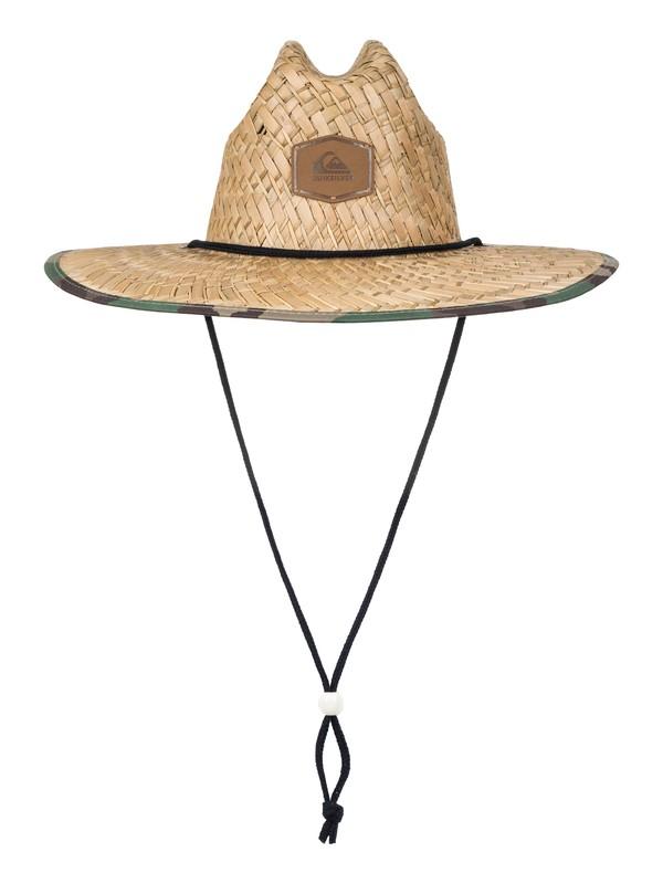 0 Outsider Straw Lifeguard Hat  AQYHA03218 Quiksilver