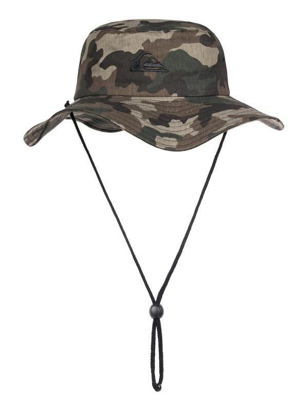 0 Bushmaster Bucket Hat Green AQYHA03314 Quiksilver