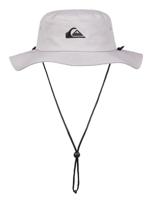 0 Bushmaster Bucket Hat Grey AQYHA03314 Quiksilver