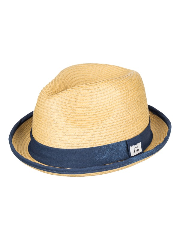 0 Chillstill Fedora Hat  AQYHA03369 Quiksilver