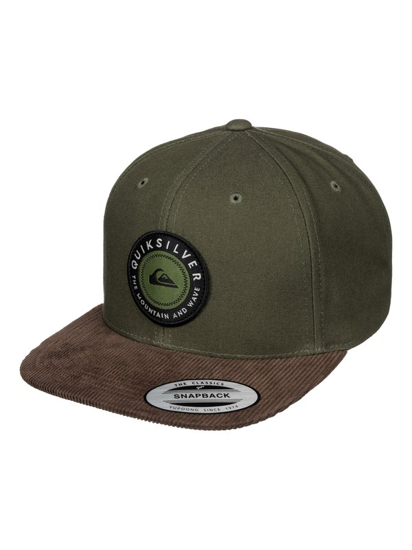 0 Roasted - Casquette snapback  AQYHA03391 Quiksilver