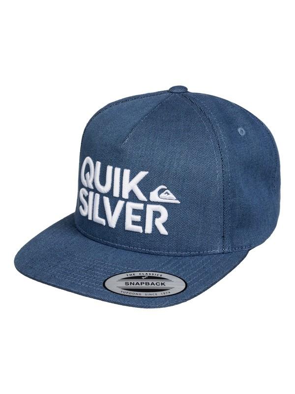 0 Overunder - Gorra con cierre trasero de presión  AQYHA03394 Quiksilver