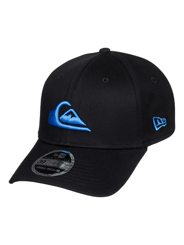 0 Mountain & Wave New Era® Stretch Fit Hat Blue AQYHA03487 Quiksilver