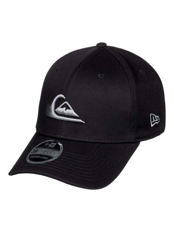 0 Mountain & Wave - New Era® Stretch Fit Cap Grey AQYHA03487 Quiksilver