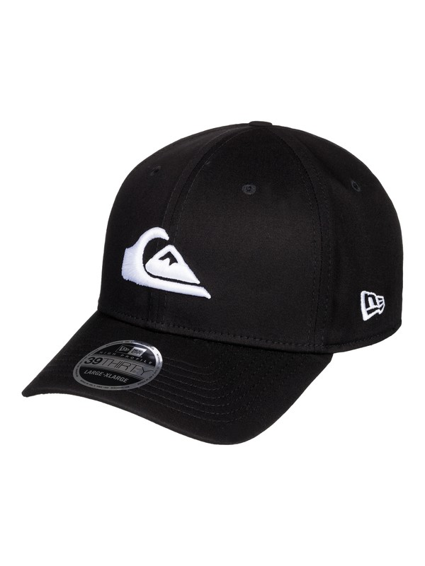 0 Mountain & Wave New Era® Stretch Fit Hat White AQYHA03487 Quiksilver