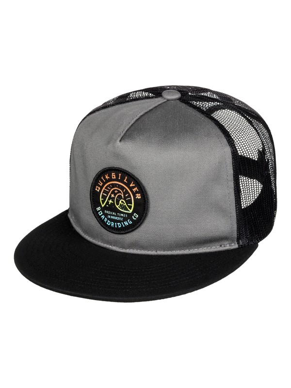 0 Concentrated - Casquette trucker  AQYHA03520 Quiksilver