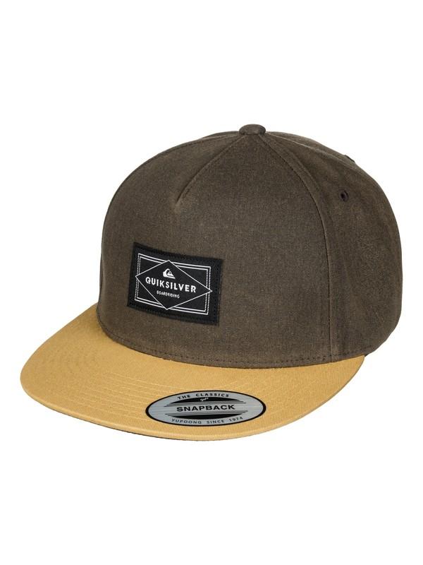 0 Freewill Snapback Hat  AQYHA03525 Quiksilver