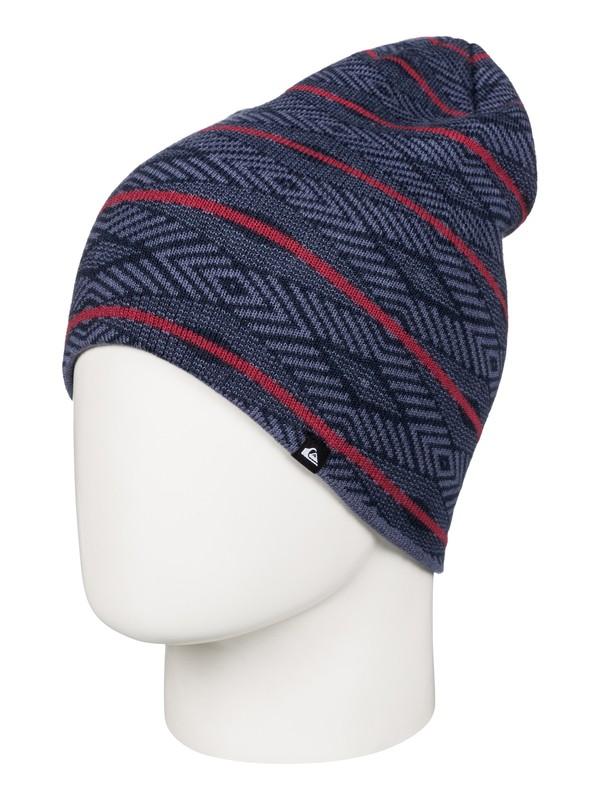 0 Checkstripe - Bonnet  AQYHA03559 Quiksilver