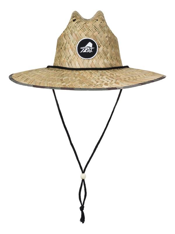 0 Eddie Outsider - Straw Lifeguard Hat  AQYHA03664 Quiksilver