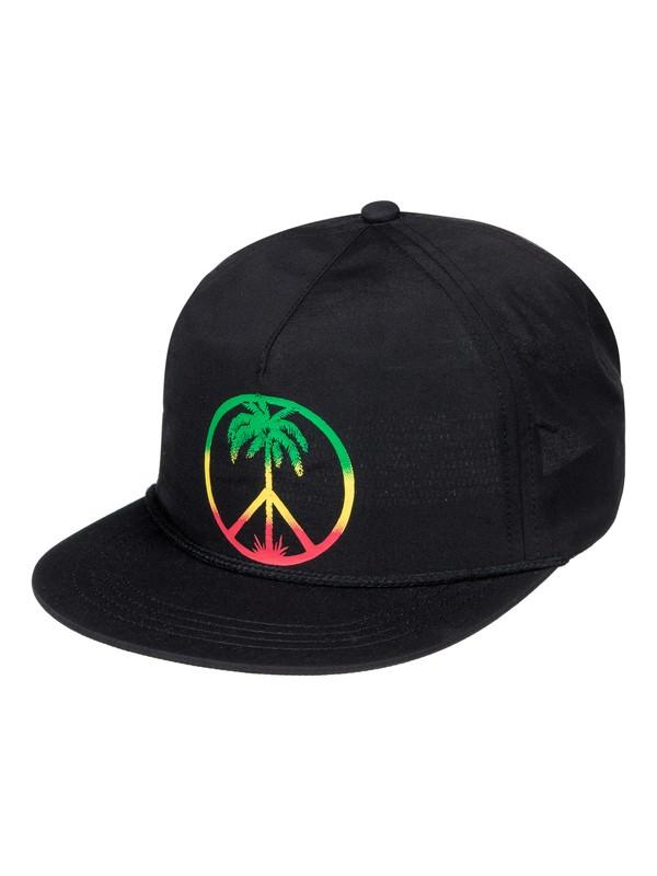 0 Peace On The Beach - Snapback Cap for Men  AQYHA03824 Quiksilver