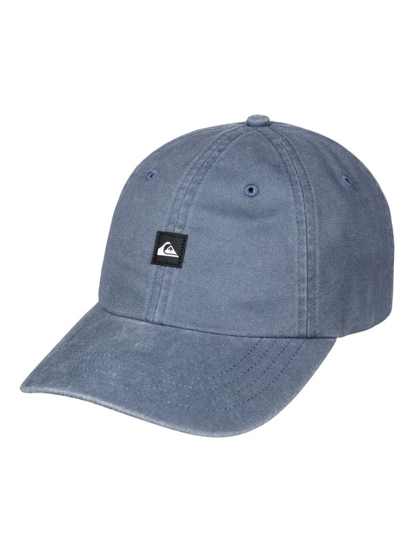 0 Fins Up Dad Hat Blue AQYHA03841 Quiksilver