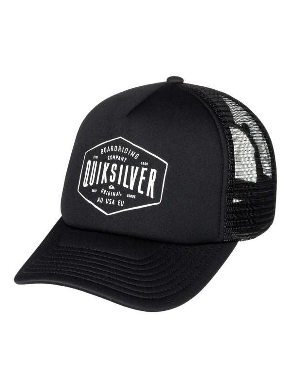 0 Knockout Trucker Hat  AQYHA03850 Quiksilver