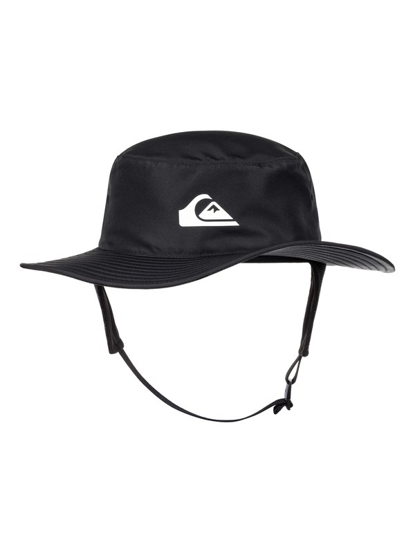 0 Bushmaster Surf Performance Surf Bucket Cap Black AQYHA03878 Quiksilver