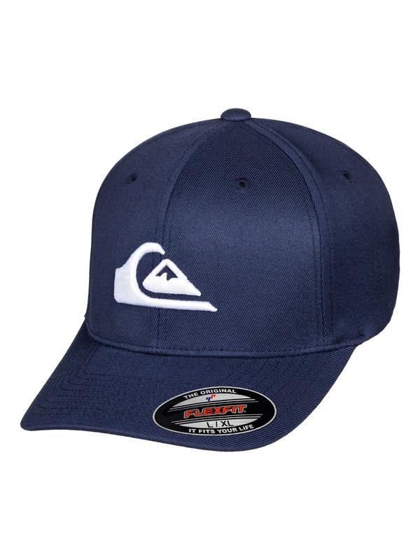 0 Mountain And Wave - Flexfit® Cap Blue AQYHA03978 Quiksilver