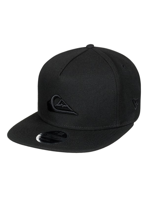0 Stuckles Snap Snapback Hat Black AQYHA03989 Quiksilver