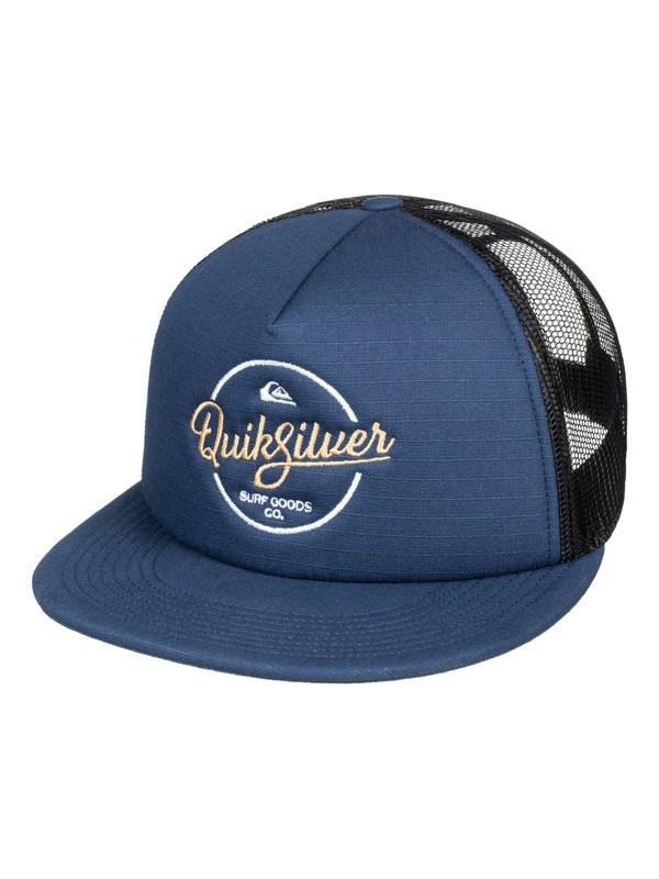 0 Turnstyles - Gorra Trucker para Hombre Azul AQYHA03993 Quiksilver