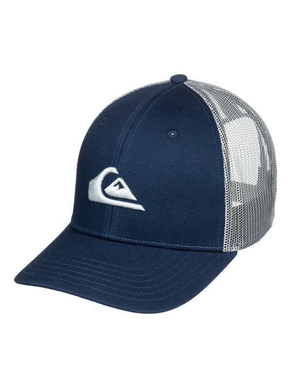 0 Grounder Trucker Hat Blue AQYHA03997 Quiksilver