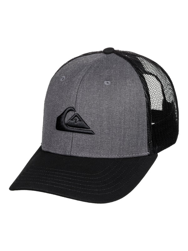 0 Grounder Trucker Hat Black AQYHA03997 Quiksilver