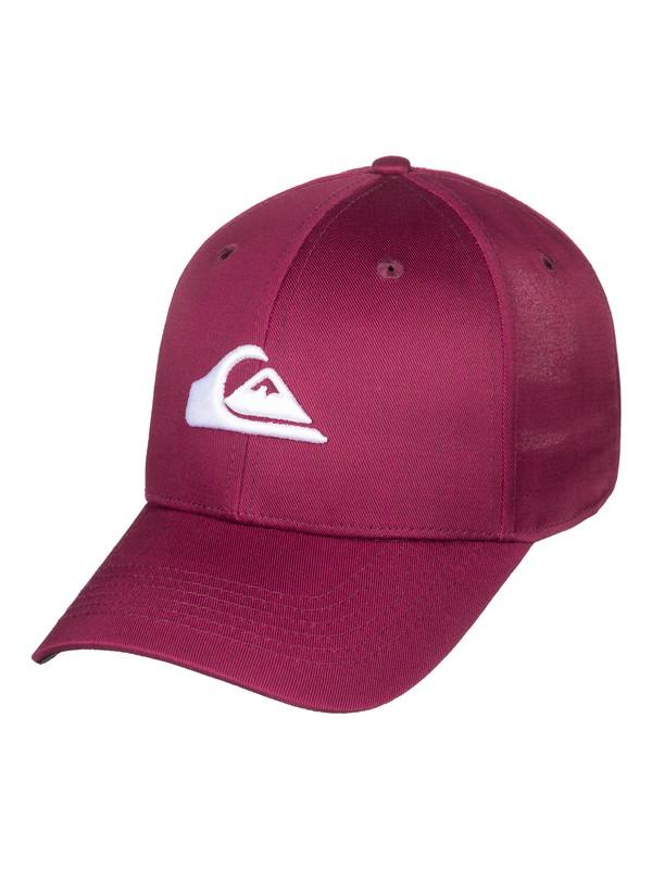 0 Decades - Snapback Cap Red AQYHA04002 Quiksilver