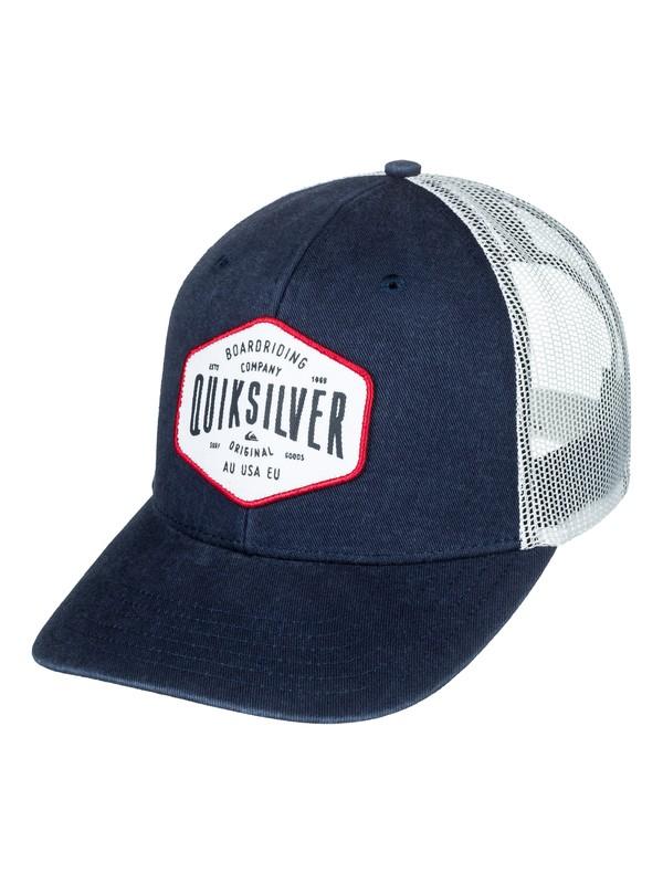 0 Steel Hander Trucker Hat  AQYHA04062 Quiksilver