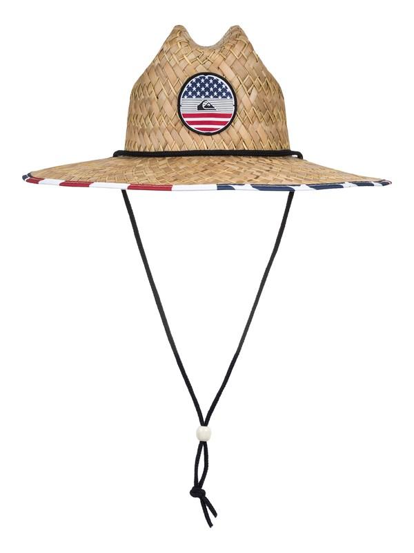 0 Outsider America Straw Lifeguard Hat  AQYHA04077 Quiksilver