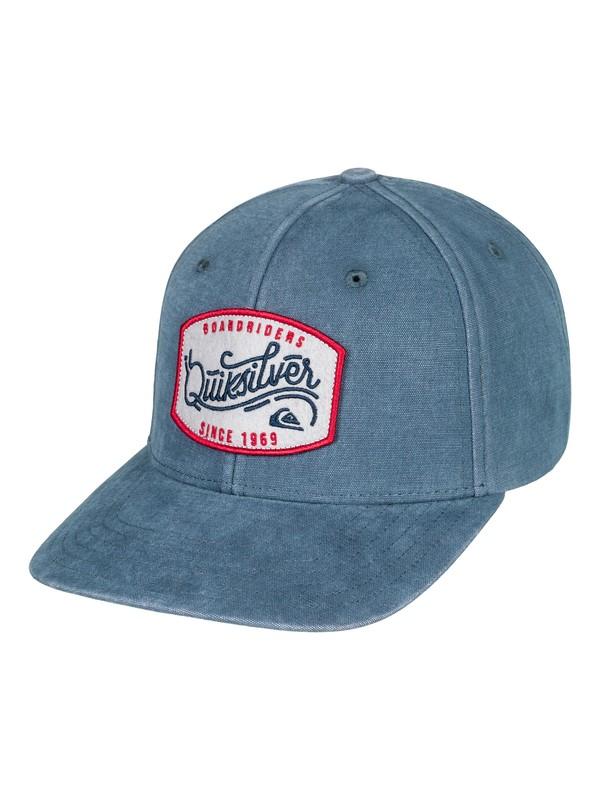 0 Bull Hickey Snapback Hat  AQYHA04098 Quiksilver