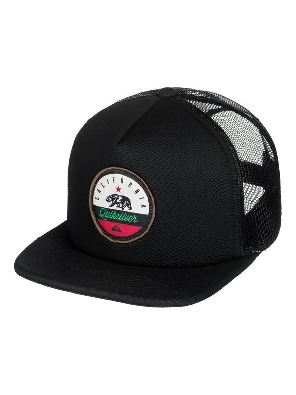 0 Cali Bear Trucker Hat  AQYHA04102 Quiksilver